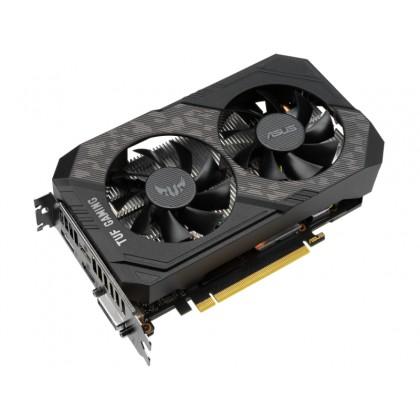 VGA ASUS GTX1660Ti 6GB GDDR6 TUF Gaming EVO OC (TUF-GTX1660TI-O6G-EVO-GAMING) //  GeForce® GTX 1660 Ti, 6GB GDDR6, 192 bit, Engine 1815/1845MHz (OC Mode), Memory 12002MHz, Active Cooling (2x fans), Di