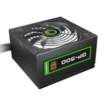 Power Supply ATX 500W GAMEMAX GP-500, 80+ Bronze, Active PFC, 140mm silent fan, Retail