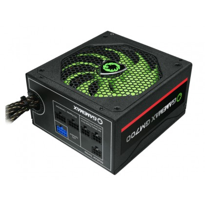 Power Supply ATX 700W GAMEMAX GM-700, 80+ Bronze, Modular cable, Active PFC,140mm silent fan, Retail