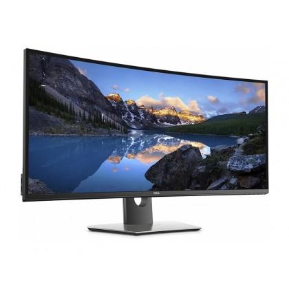 """38.0"""" DELL IPS LED U3818DW Curved Black (5ms, 21:9, 300M:1, 300cd,  3440 x 1440, 178°/178°,  2xHDMI, DisplayPort, USB-C, USB Hub: 4 x USB3.0, Audio Line out, Height Adjustment, VESA  )"""