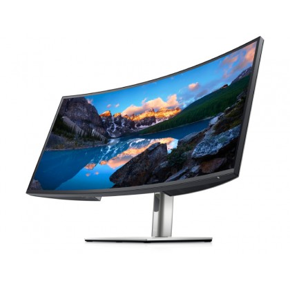 """34.0"""" DELL IPS LED U3421WE Curved Silver"""