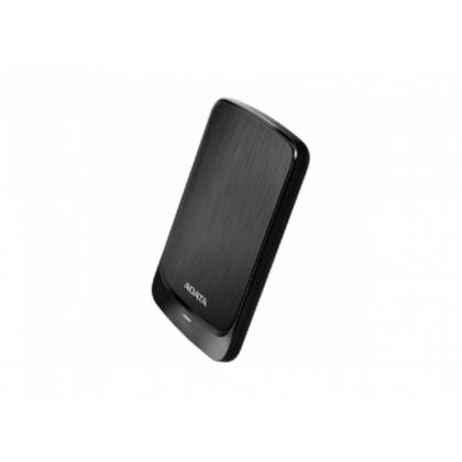"""1.0TB (USB3.1) 2.5"""" ADATA HV320 External Hard Drive, Very Slim, Black (AHV320-1TU31-CBK)"""