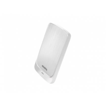 "2.0TB (USB3.1) 2.5"" ADATA HV320 External Hard Drive, Very Slim, White (AHV320-2TU31-CWH)"