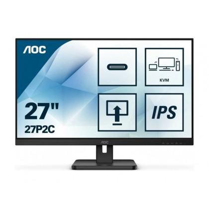 """27.0"""" AOC IPS LED 27P2C Black"""