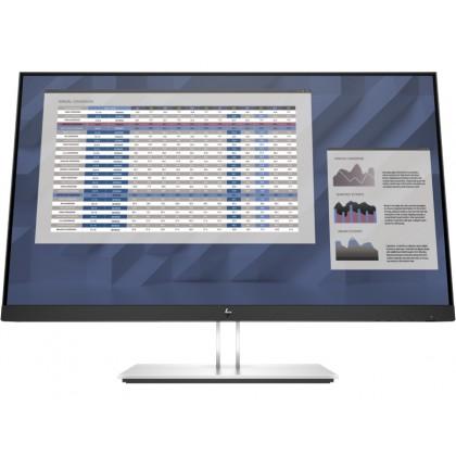 """27.0"""" HP IPS LED E27q G4 QHD Black/Silver (5ms, 1000:1, 250cd, 2560x1440, 178°/178°, VGA, DisplayPort, HDMI, USB Hub: 4 x USB3.2, Pivot, Height-adjustable, VESA)"""