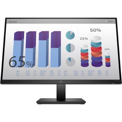 """27.0"""" HP IPS LED P27q G4 QHD Black (5ms, 1000:1, 300cd, 2560x1440, 178°/178°, VGA, HDMI, Pivot, Height-adjustable, VESA)"""