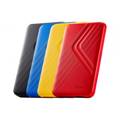 "1.0TB (USB3.1) 2.5"" Apacer AC236 Ultra-Slim Portable Hard Drive, Yellow (AP1TBAC236Y-1)"
