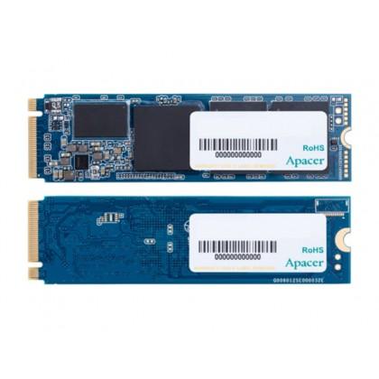 .M.2 NVMe SSD 1.0TB  Apacer AS2280P4 [PCIe 3.0 x4, R/W:3000/2000MB/s, 360K/360K IOPS, 3D TLC]