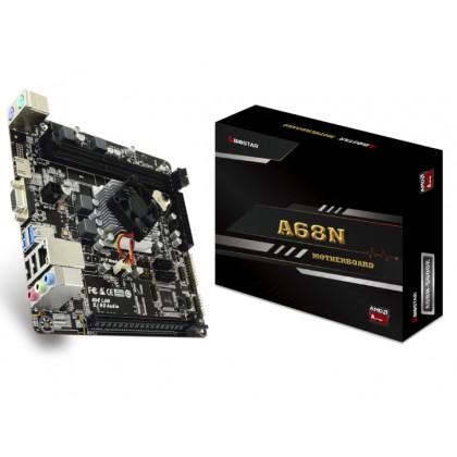 Biostar A68N-5600E, MB + CPU onboard, Mini-ITX