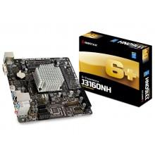 Biostar J3160NH, MB + CPU onboard, Mini-ITX