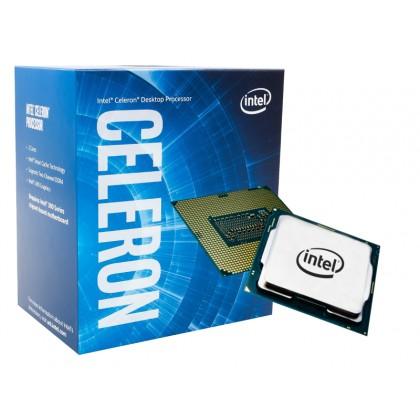 Intel® Celeron® G5905, S1200, 3.5GHz (2C/2T), 4MB Cache, Intel® UHD Graphics 610, 14nm 58W, Box