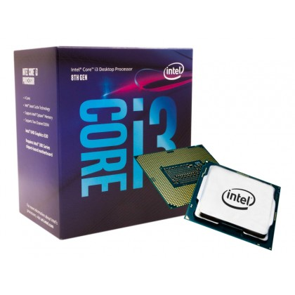 CPU Intel Core i3-9100 3.6-4.2GHz (4C/4T, 6MB, S1151,14nm, Integrated UHD Graphics 630, 65W) Box