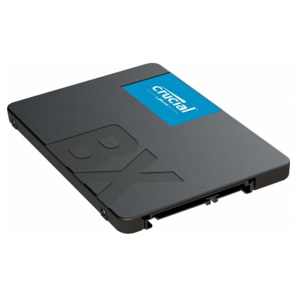 """2.5"""" SSD 960GB  CRUCIAL BX500, SATAIII, SeqReads: 540 MB/s, SeqWrites: 500 MB/s, 7mm,Controller SMI SM2259XT, Micron's 96-layer 3D NAND TLC"""