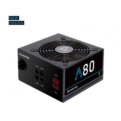 Power Supply ATX 650W Chieftec A-80 CTG-650C, 85+, Active PFC, 120mm silent fan, Modular Cable