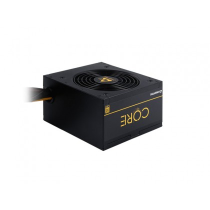 Power Supply ATX 600W Chieftec CORE BBS-600S, 80+ Gold, Active PFC, 120mm silent fan.