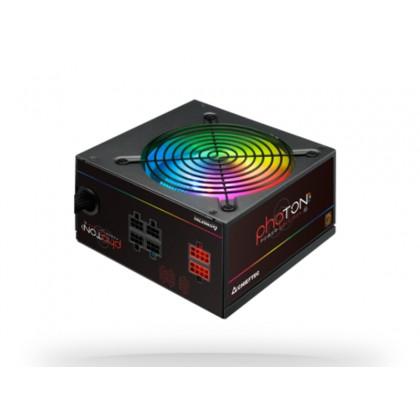 Power Supply ATX 650W Chieftec PHOTON CTG-650C-RGB, 85+, Active PFC, 120mm, RGB, Modular Cable