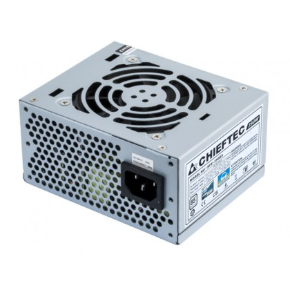 Power Supply SFX 350W Chieftec SFX-350BS, 80PLUS, Active PFC, 80mm silent fan