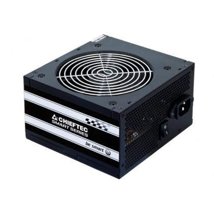 Power Supply ATX 500W Chieftec SMART GPS-500A8, 80+, Active PFC, 120mm silent fan