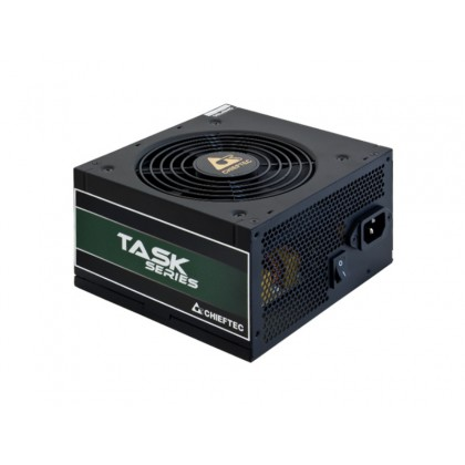 Power Supply ATX 700W Chieftec TASK TPS-700S, 80+ Bronze, Active PFC, 120mm silent fan.