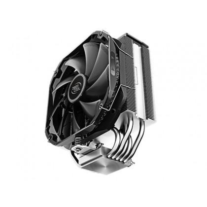 "DEEPCOOL Cooler  ""AS500"",  A-RGB LED, LGA2066/2011-v3/2011/1200/1151/1150/1155 & AMD AM4/AM3+/AM3/AM2+/AM2/FM2+/FM2/FM1, 1x fans: TF140S PWM 140х140х25mm, 500~1200rpm, 29.2 dB(A), 4-pin"