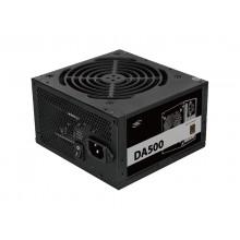 Power Supply ATX 500W Deepcool DA500, 80+ Bronze, Active PFC, 120mm silent fan, Retail