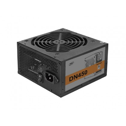 """PSU DEEPCOOL """"DN450 New version"""", 450W, ATX 2.31, 80 PLUS®, Active PFC, 120mm fan with PWM"""