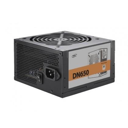 Power Supply ATX 650W Deepcool DN650, 80PLUS, Active PFC, 120mm silent fan, Retail