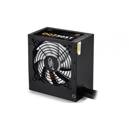 Power Supply ATX 750W Deepcool DQ750ST, 80+ Gold, Active PFC, 120 mm silent fan
