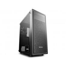 Case ATX Deepcool E-SHIELD, w/o PSU, 1x120mm, Tempered Glass, Magnetic dust proof net, USB3.0, Black