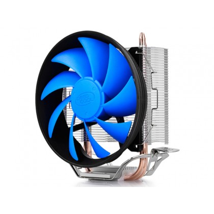"""DEEPCOOL Cooler  """"GAMMAXX 200T"""", Socket 775/1150/1151 & AM4/FM2/AM3, up to 100W, 120х120х25mm, 900~1600rpm, 17.8~26.1 dBA, 54.25CFM, 4 pin, PWM, Hydro Bearing, 2 heatpipes direct contact"""