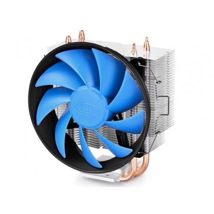 "DEEPCOOL Cooler  ""GAMMAXX 300"",Socket LGA1366/LGA1200/1151/1150/1155/LGA775 & AM4/FM2/AM3, up to 130W, 120х120х25mm, 900~1600rpm, 17.8~21dBA, 55.5CFM, 4 pin, PWM"