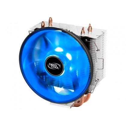 "AC Deepcool ""GAMMAXX 300B"" (17.8-21dBA, 40CFM, 120mm, Blue LED, PWM, 130W, 440g.)"