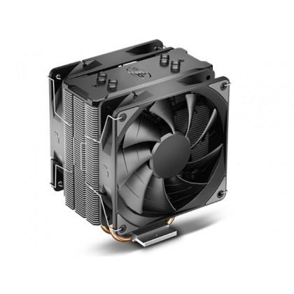 "DEEPCOOL Cooler  ""GAMMAXX 400 EX"", Socket LGA1200/1151/1150/1155/1366 & AM4/FM2/AM3, 2x fans:120х120х25mm, 500~1500rpm, 17.8~27.6dBA, 52 CFM, 4-pin PWM, Hydro Bearing"