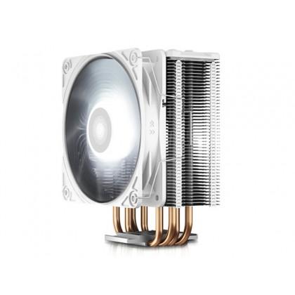 "AC Deepcool ""GAMMAXX GTE V2 WHITE"" (<27.8dBA, 500-1650RPM, 65.5CFM, 120mm,130W, 650g.)"