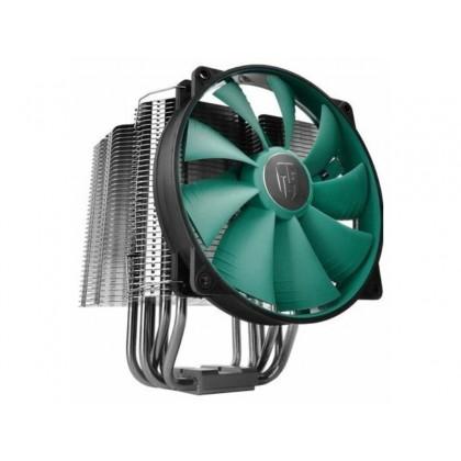 """DEEPCOOL Cooler  """"LUCIFER V2"""", Socket 775/1150/1151/20XX &AM4/AM3+/AM3/AM2+/AM2/FM2+, up to 130W, fan: 140х140х26mm, PWM fan with min.300RPM"""
