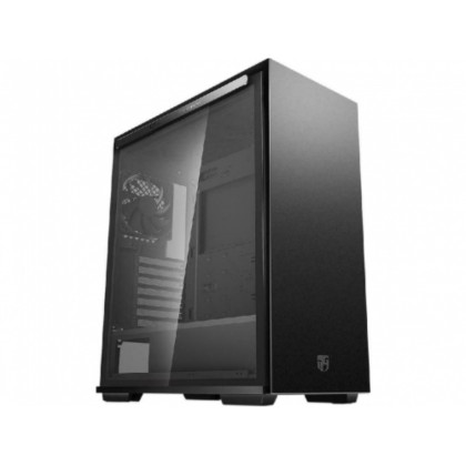 Case ATX Deepcool MACUBE 310P BK, w/o PSU, 1x120mm, Dust Filters, Tinted Tempered Glass,USB3.0,Black