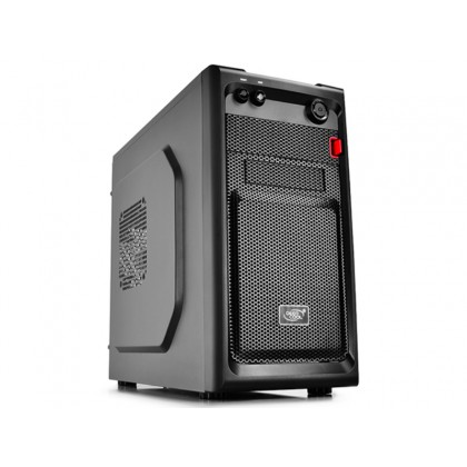 Case mATX Deepcool SMARTER, w/o PSU, Backplate Cable Managemen, USB3.0, Black