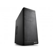 """DEEPCOOL """"WAVE V2"""" Micro-ATX Case, without PSU, fully black painted interior, VGA Compatibility: 320mm, support cable management, 3x 2.5"""" Drive Bays, 1xUSB3.0, 2xUSB2.0 /Audio, Black"""