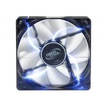 """120mm Case Fan - DEEPCOOL """"WIND BLADE 120"""" Fan with 4 blue LED, 120x120x25mm, 1300rpm, <26dBa, 65.16CFM, Hydro Bearing, Black"""