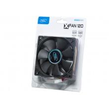 PC Case Fan Deepcool XFAN120, 120x120x25mm, 23.7db, 43.56CFM, 1300RPM, Hydro Bearing