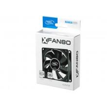 PC Case Fan Deepcool XFAN80, 80x80x25mm, 20.3dB, 21.8CFM, 1800RPM, Hydro Bearing