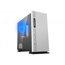 Case mATX GAMEMAX EXPEDITION, w/o PSU,1x120mm, Blue LED, USB3.0, Acrylic Window, White