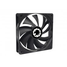 PC Case Fan GAMEMAX GMX-WFBK-BK, 120mm, 23.4dB, 46.5 CFM, 1200PM, Hydraulic bearing, PWM, 4pin,Black