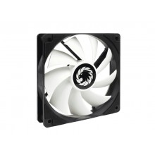 PC Case Fan GAMEMAX GMX-WFBK-WT, 120mm, 23.4dB, 46.5 CFM, 1200PM, Hydraulic bearing, PWM, 4pin,White