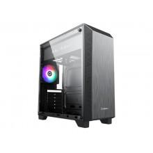 Case ATX GAMEMAX Nova N5, w/o PSU, 1x120mm, FRGB LED fan, ARGB LED strip, TG, USB 3.1, Black