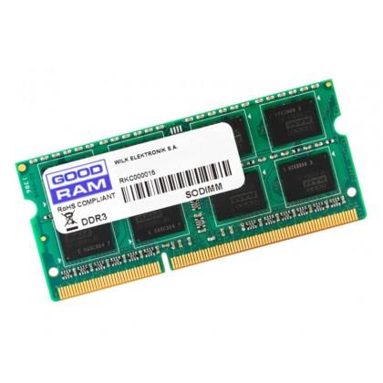 8GB DDR3-1600 SODIMM  GOODRAM, PC12800, CL11, 1.5V