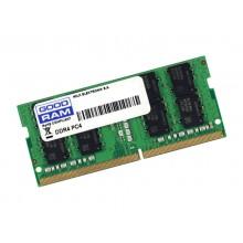 4GB DDR4-2400 SODIMM  GOODRAM, PC19200, CL17, 512x8, 1.2V