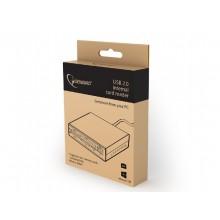 "3.5"" Card Reader Internal Gembird FDI2-ALLIN1-02-B, MS/MS Duo/SD/MMC/ XD/ CF/CFII/T-Flash,M2/USB 2.0"