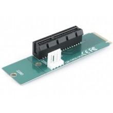 """M.2 to PCI-Express, Gembird """"RC-M.2-01"""", MOLEX power"""