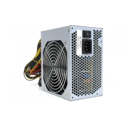 PSU HPC ATX-550W, 12cm red fan